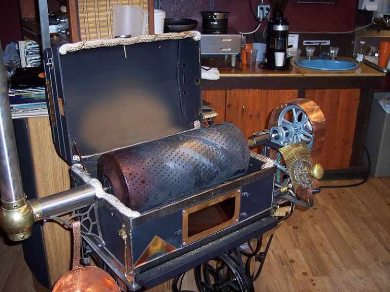 The Roaster is the Combination of Man & Machine: